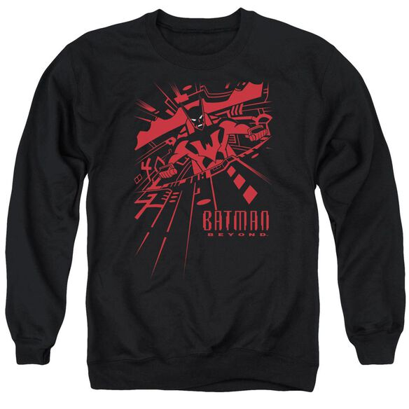 Batman Beyond At The Controls Adult Crewneck Sweatshirt
