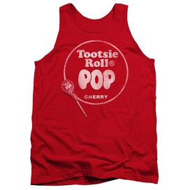 Tootsie Roll Tootsie Roll Pop Logo Adult Tank