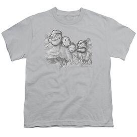 Popeye Pop Rushmore Short Sleeve Youth T-Shirt