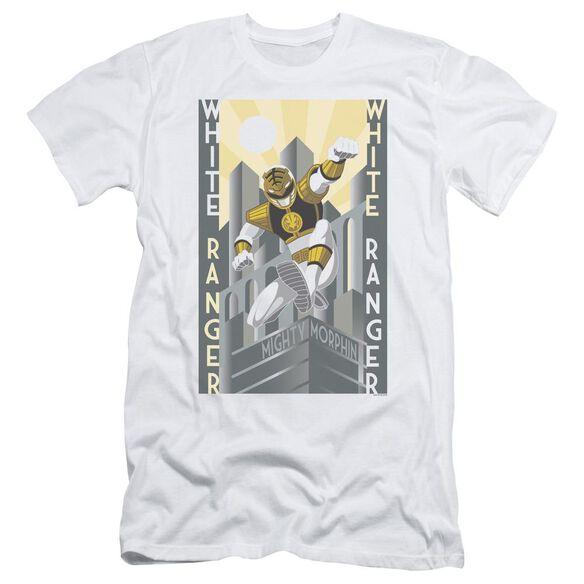 Power Rangers Ranger Duo Short Sleeve Adult T-Shirt