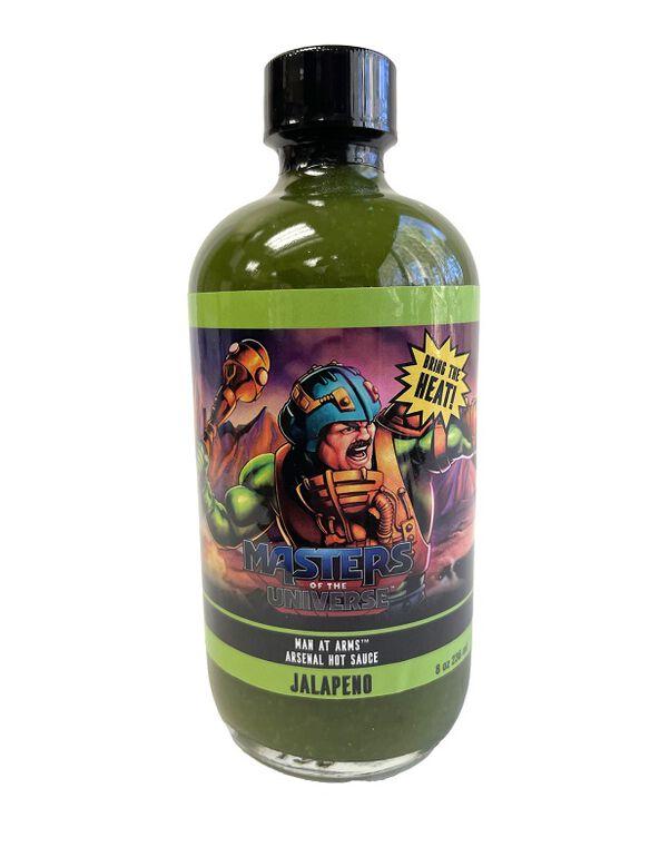 Masters of the Universe Man At Arms Arsenal Hot Sauce Jalapeno