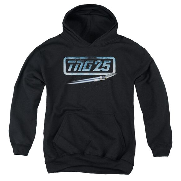 Star Trek Tng 25 Enterprise Youth Pull Over Hoodie