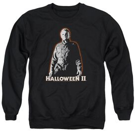 Halloween Ii Michael Myers - Adult Crewneck Sweatshirt - Black