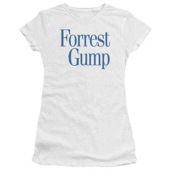 Forrest Gump Logo Premium Bella Junior Sheer Jersey