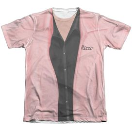 Grease Rizzo Pink Ladies Adult 65 35 Poly Cotton Short Sleeve Tee T-Shirt