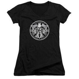Supergirl Deo Junior V Neck T-Shirt