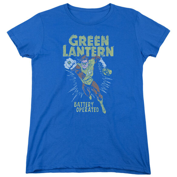 GREEN LANTERN FULLY CHARGED-S/S WOMENS T-Shirt