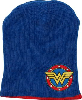 Wonder Woman Reversible Slouch Beanie