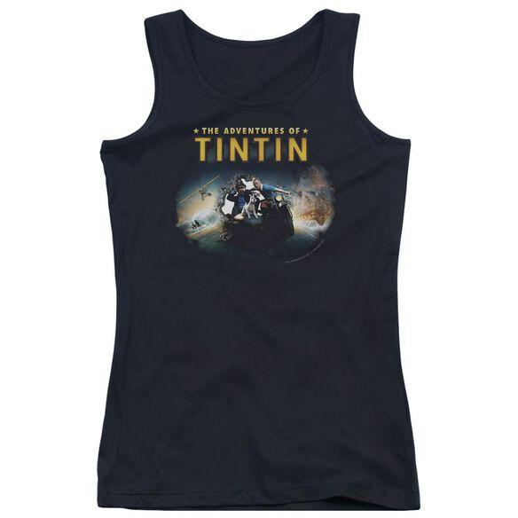 Tintin Journey Juniors Tank Top