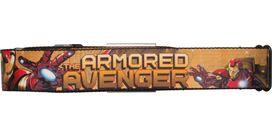 Iron Man Armored Avenger Palm Seatbelt Mesh Belt