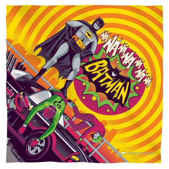 Batman Classic Tv Batman Wins Again Bandana