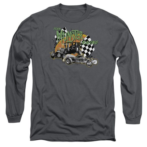 The Munsters Munster Racing Long Sleeve Adult T-Shirt
