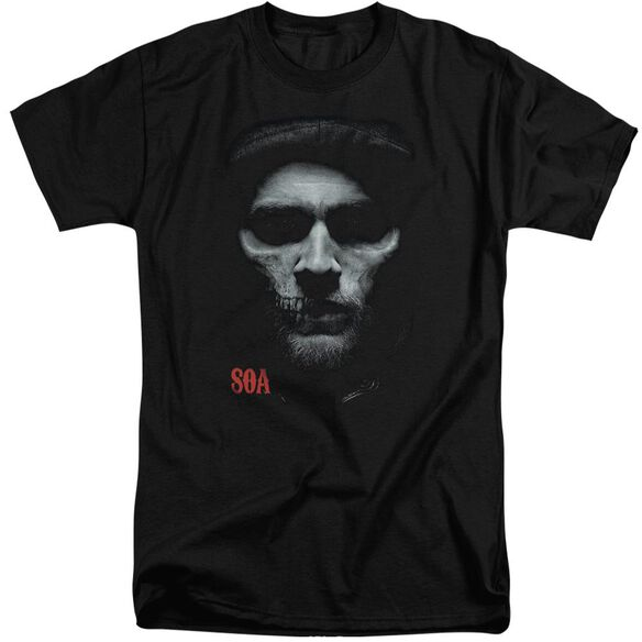 Sons Of Anarchy Skull Face Short Sleeve Adult Tall T-Shirt