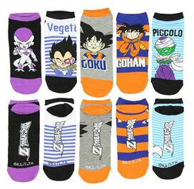 Dragon Ball Z 5 Pack Low Cut Socks