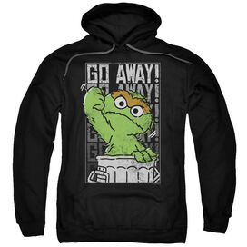 Sesame Street Go Away Adult Pull Over Hoodie