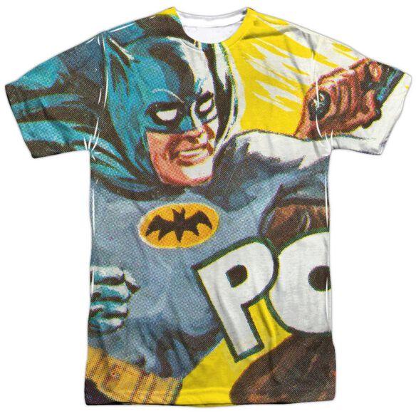 Batman Classic Tv On The Chin Short Sleeve Adult Poly Crew T-Shirt
