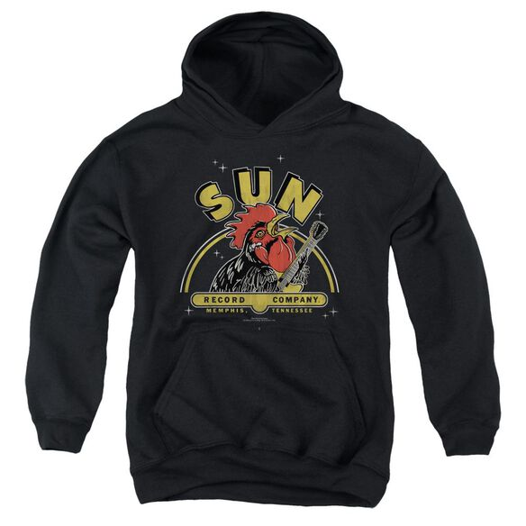 Sun Rocking Rooster Youth Pull Over Hoodie