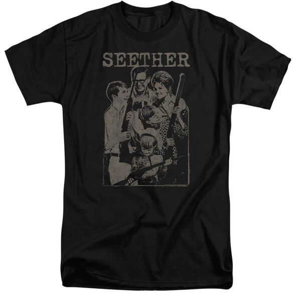 Seether Happy Family Short Sleeve Adult Tall T-Shirt
