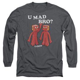 Gumby U Mad Bro Long Sleeve Adult T-Shirt