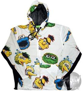 Sesame Street All Faces Jacket