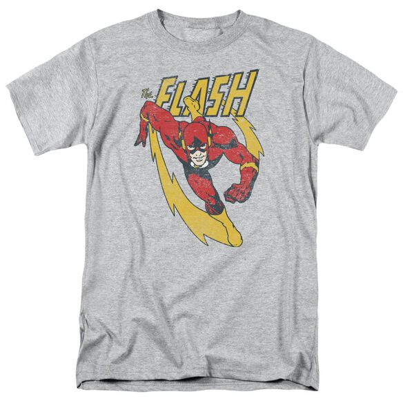 Jla Lightning Trail Short Sleeve Adult Athletic T-Shirt