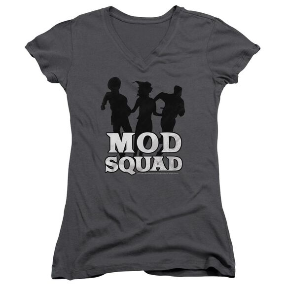 Mod Squad Mod Squad Run Simple Junior V Neck T-Shirt