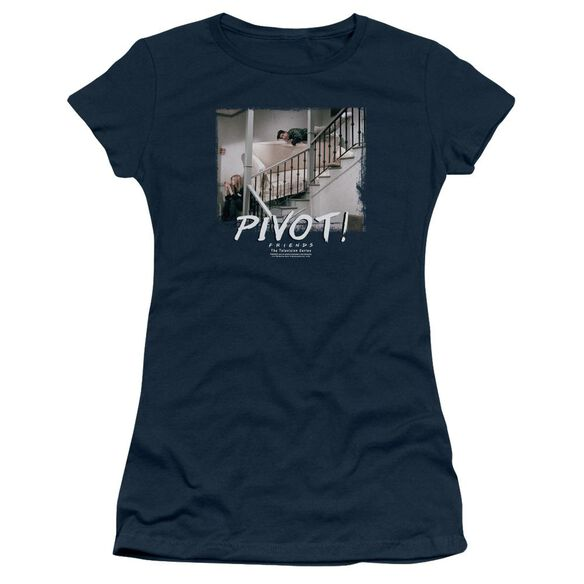 Friends Pivot Hbo Short Sleeve Junior Sheer T-Shirt