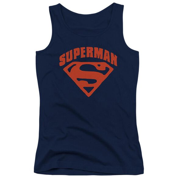 Superman Super Shield Juniors Tank Top
