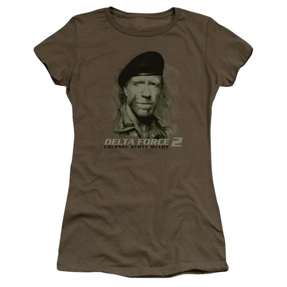 Delta Force 2 You Can't See Me Premium Bella Junior Sheer Jersey Military