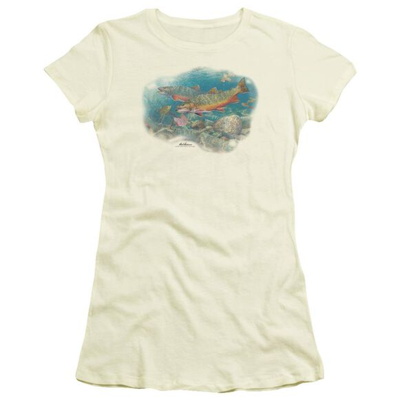 Wildlife Easy Pickings Trout Short Sleeve Junior Sheer T-Shirt