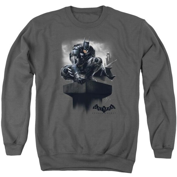 Batman Arkham Knight Perched Adult Crewneck Sweatshirt