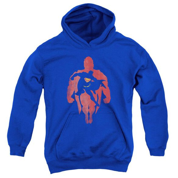 Superman Super Knockout Youth Pull Over Hoodie