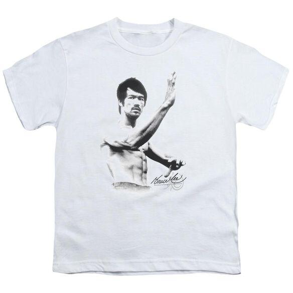 Bruce Lee Serenity Short Sleeve Youth T-Shirt