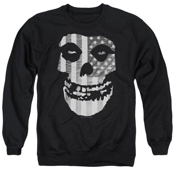 Misfits Fiend Flag Adult Crewneck Sweatshirt