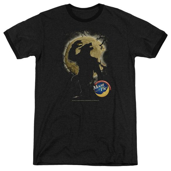 Moon Pie Howling Moon Pie Adult Heather Ringer