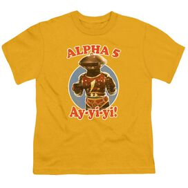 Power Rangers Alpha 5 Short Sleeve Youth T-Shirt