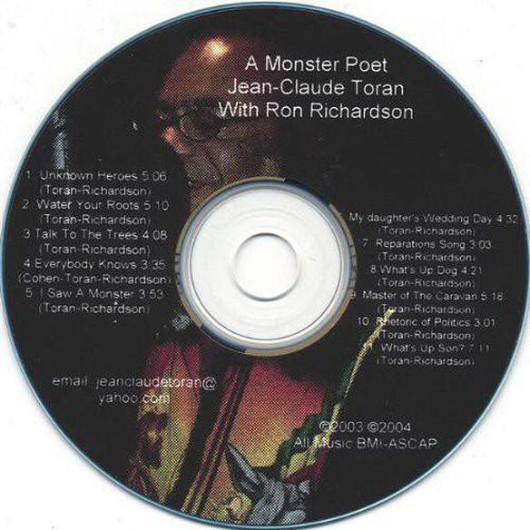Monster Poet Jean Claude Toran With Ron Richardson