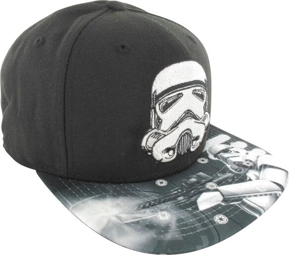 04f0ef5b266b3 Star Wars Stormtrooper Glow in the Dark 9Fifty Hat