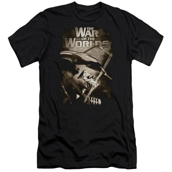 War Of The Worlds Death Rays Premuim Canvas Adult Slim Fit