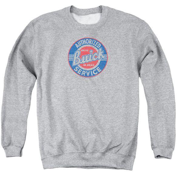 Buick Authorized Service Adult Crewneck Sweatshirt Athletic