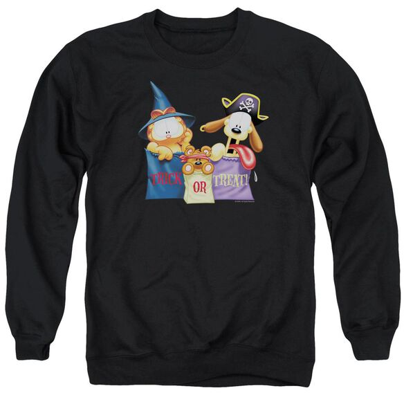 Garfield Grab Bags Adult Crewneck Sweatshirt