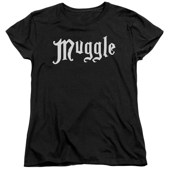 Harry Potter Muggle Short Sleeve Womens Tee T-Shirt