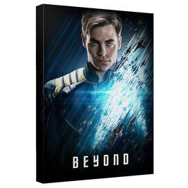 Star Trek Beyond Kirk Beyond Canvas Wall Art With Back Board