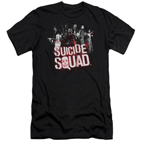 Suicide Squad Squad Splatter Short Sleeve Adult T-Shirt