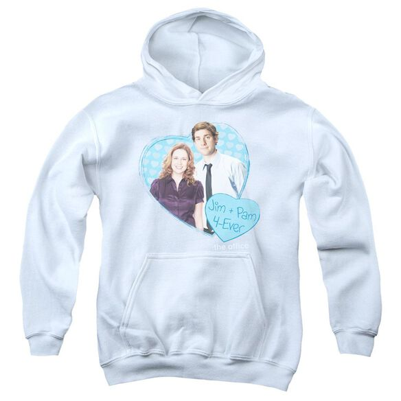 The Office Jim & Pam 4 Ever Youth Pull Over Hoodie