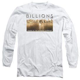 Billions Golden City Long Sleeve Adult T-Shirt