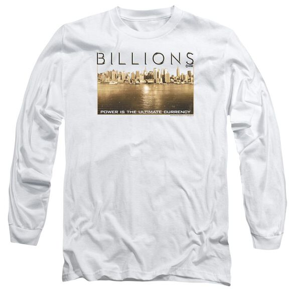 Billions Golden City Long Sleeve Adult T-Shirt