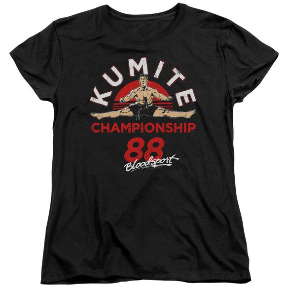 Bloodsport Championship 88 Short Sleeve Womens Tee T-Shirt