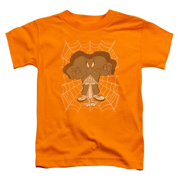 Looney Tunes Being Watched Short Sleeve Toddler Tee Orange T-Shirt