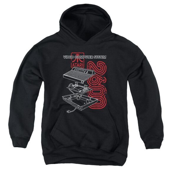 Atari 2600 Youth Pull Over Hoodie